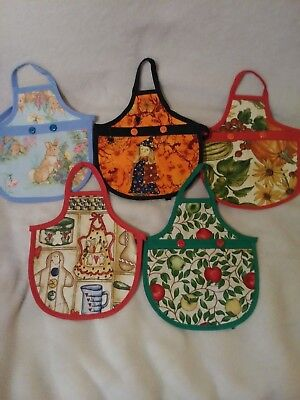 Handmade Dish Soap Cute Apron***Lot of 5***