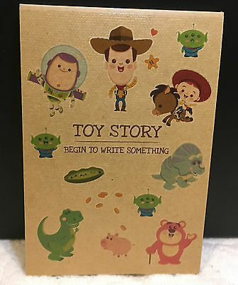 Cute Disney Toy Story Note Books Diary Journal Message Memo Gift Woody Lightyear