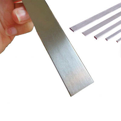 3mm 440C Stainless Steel Flat Bar Rod Knife Making Material HRC 59 L:20-40cm UK
