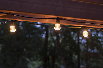 Lights by Night LED Bistro String Lights, 24-Foot 12-Bulbs, 38356