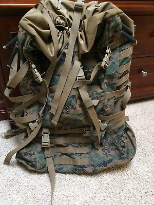 Propper International Inc Dept. of US Navy Marine Corps Camo Military Backpack