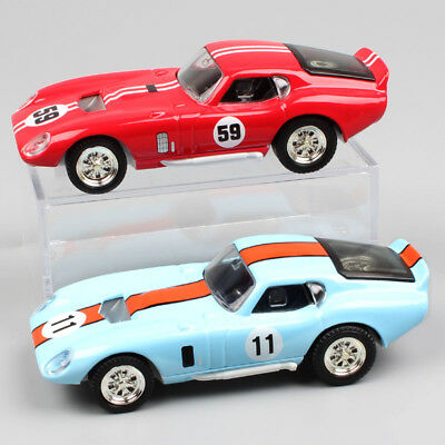 1:43 vintage ford GT 1965 Shelby Cobra Daytona Coupe racing car No.5 diecast toy