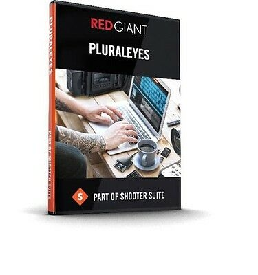 Red Giant Software Pluraleyes 4  Full Retail 2016 4.0