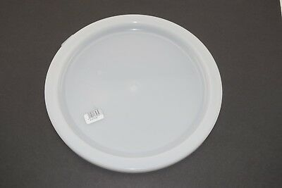 Cambro RFSC12148 White Poly Lid for 12 / 18 / 22 Qt Round Containers Top Cover