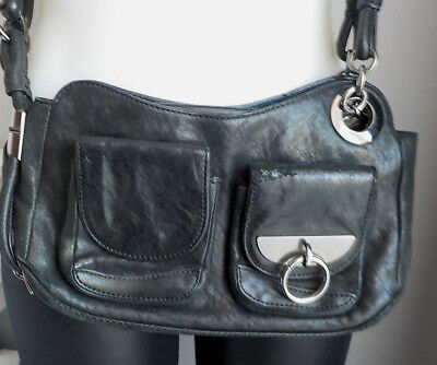🍀 🍀   Mimco Smal  Over The Body Leather Bag   🍀 🍀
