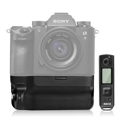 Meike MK-A9 Pro Battery Grip Remote Controller for Sony A7RIII A9 A7 As VG-C3EM