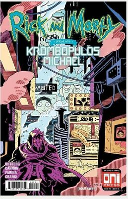Rick and Morty Krombopulos Michael #1 (2018) Andrew MacLean Variant