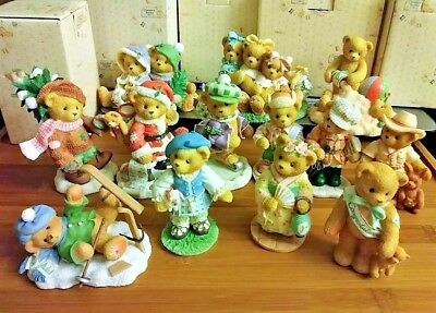 Cherished Teddies New in Box w Certificate New, Selling Individually