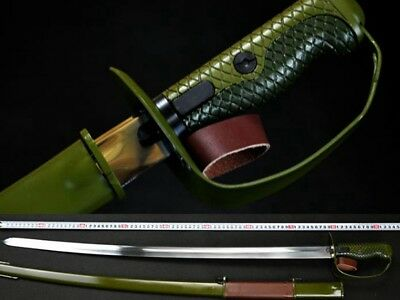 Handmade Europe military Command Sword Cavalvy Saber Guard Sword Stainless Ste