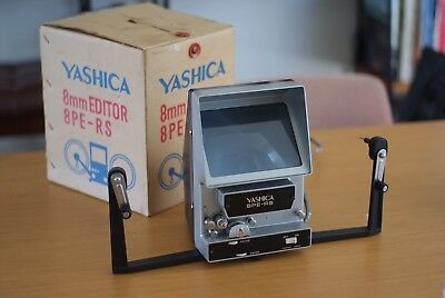 Yashica 8mm film editor 8PE-RS, Mint Condition, Original Box, Rare, NOS, Vintage