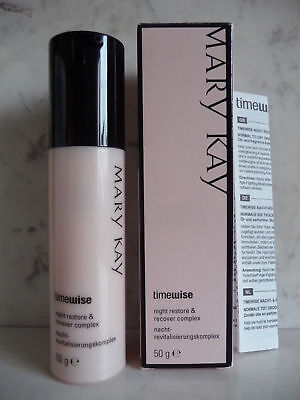 MARY KAY TIMEWISE NIGHT RESTORE & RECOVER COMPLEX 50g EXP 09/15