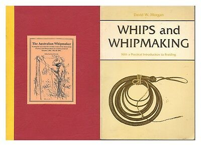 The Australian Whipmaker journal Volume 1&2 1985-1993 Whips and Whipmaking books