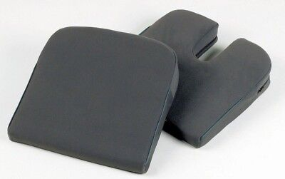 Wedge Seatrite with coccyx cut-out - Spine, Back, Legs Support 14.5 x 14.5 x 3""