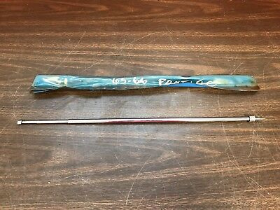 1964 1965 1966 Pontiac Oval Mast Forked Base Adjustable Radio Antenna Nors  718