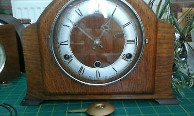 collection of vintage clocks for repair or spares