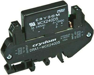 Sensata / Crydom 5 A rms Solid State Relay, Zero Cross, DIN Rail, 280 V Maximum