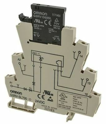 Omron 3 A SPST Solid State Relay, DIN Rail MOSFET, 26.4 V dc Maximum Load