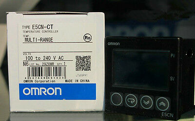 NEW IN BOX Omron Temperature Controller E5CN-CT E5CNCT 100-240VAC