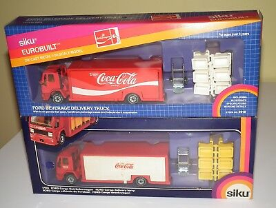 1970's SIKU Eurobuilt Coca-Cola Delivery Trucks  in original boxes