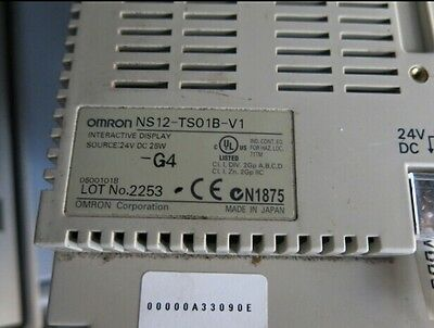 Used Omron NS12-TS01B-V1 touch panel Tested