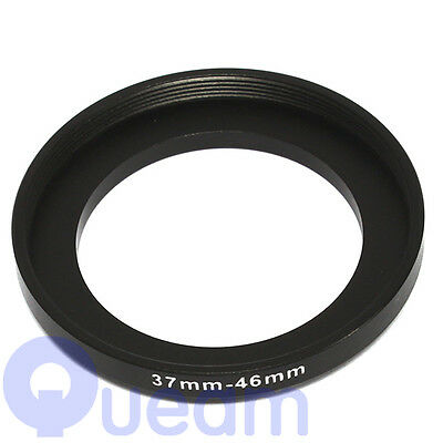 37-46mm Step-Up Metal Adapter Ring / 37mm Lens to 46mm Accessory