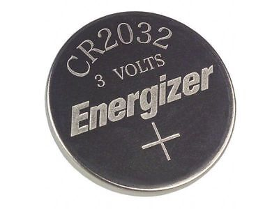 1 x  PC ENERGIZER CR2032 WATCH BATTERIES 3V LITHIUM CR 2032 DL2032 BR2032