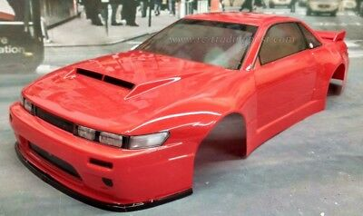 Custom Painted Body Nissan S13 For 1 10 Rc Drift Cars Touring Hpi