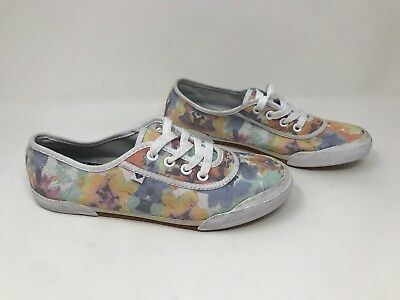 Women/'s Roxy ARJS300202 Kayak Lace-Up Shoes New Charcoal//Multi H62-H65
