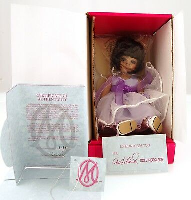 "Marie Osmond Tiny Tot Caterpillars to Butterflies 7"" Porcelain Doll"
