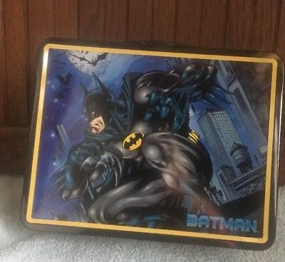 BATMAN  Lunch Box Classic Tin Lunchbox New