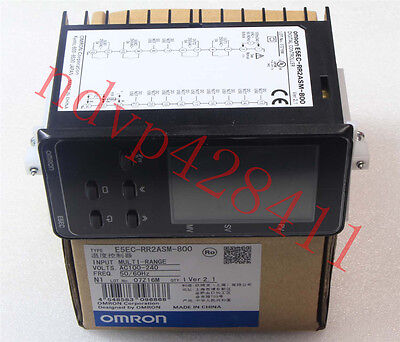 New Omron Temperature Controller E5EC-RR2ASM-800 100-240VAC