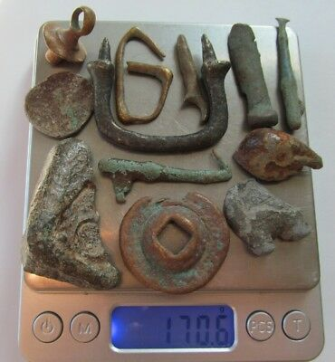 Very old Relics Metal detector finds ,lot of 12 Unknown Relics?? Lost Treasures?
