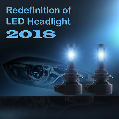 CSP LED High beam Headlight Kit 9005 HB3 H10 9140 9145 6000K 1860W 279000LM Pair