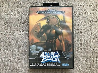 BOX ONLY Altered Beast - Megadrive Box Only
