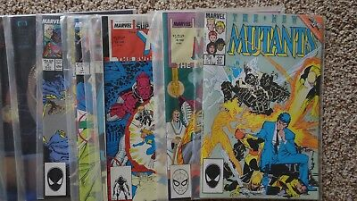 Comic Book Lot (52 issues) Marvel DC X-Men Robotech Comico FN-VF