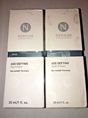 Nerium AD Age Defying Day and Night Cream Creams Combo Pack Complete Kit Sealed