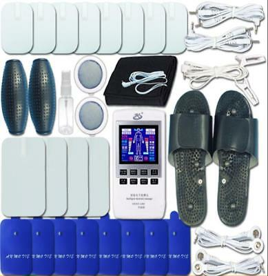Ultimate TENS Acupuncture IR Heat Device Package! Treat ALL Ear Clips Included!