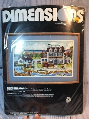 NEW Dimensions Charles Wysocki NANTUCKET BREEZE Needlepoint Kit  Factory Sealed