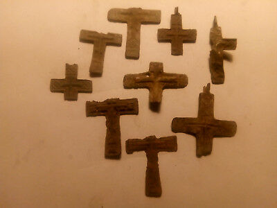 Metal detector finds. Ancient finds, ancient cross N24