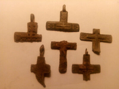 Metal detector finds. Ancient finds, ancient cross N21