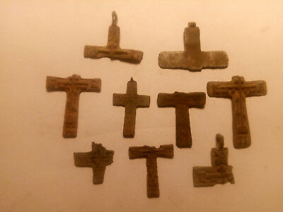 Metal detector finds. Ancient finds, ancient cross N22