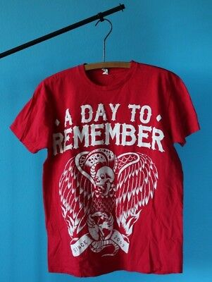 A DAY TO REMEMBER BIRD T-SHIRT - Large - Free Shipping