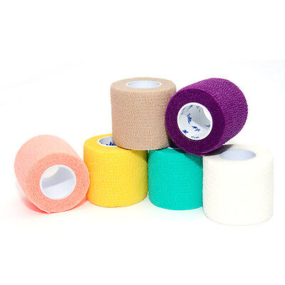 New Sport Athletic  Bandage Tape Medical Muscles Elastic Therapy HT