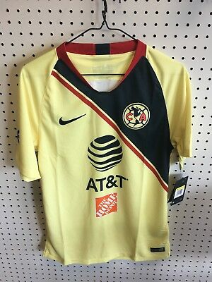 56b6d33c93 Nike Club America Official 2018-2019 Home Soccer Football Jersey size small
