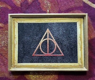 Harry Potter Deathly Hallows Inspired Christmas Ornament/Magnet/Dollhouse Mini