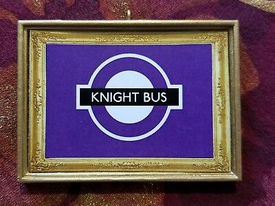 Knight Bus Inspired Christmas Ornament/Magnet/Dollhouse Mini Harry Potter Fans
