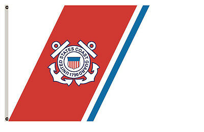 Uniformed services banner Guidon of the Coast Guard flag 3x5ft