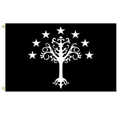 Gondor s flag from J. R. R. Tolkien s Middle-earth Flag 3x5ft Banner