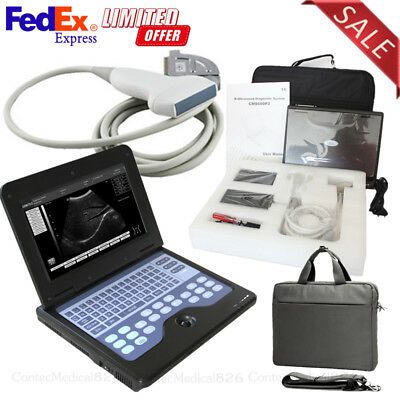 US CMS600P2 Portable Ultrasound Scanner 7.5Mhz Linear Laptop Ultrasound Machine
