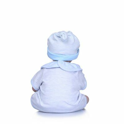 40cm Simulation Silicone Baby Doll Non-toxic Safe Children Play Toys Cute XP